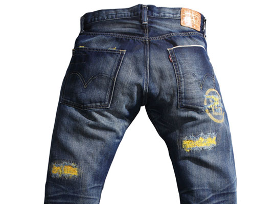 clot-levis-gold-denim-front