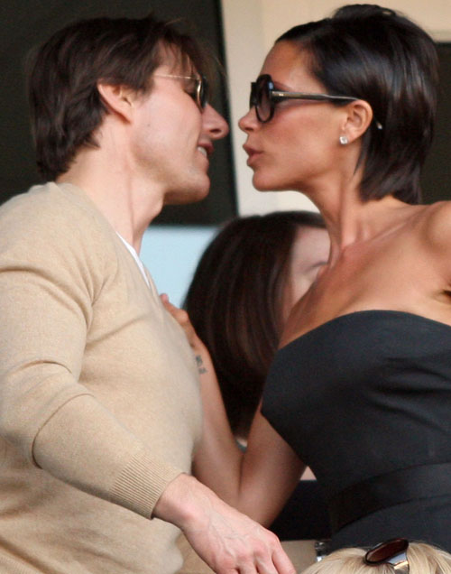 Tom Cruise and Victoria Beckham